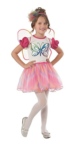 Rubies Pink and White Butterfly Costume, Toddler
