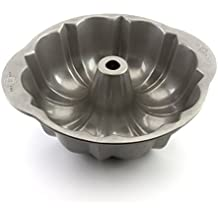 USA Pan Bakeware Fluted Tube Cake Pan, Warp Resistant Nonstick Baking Pan, Made in the USA from Aluminized Steel