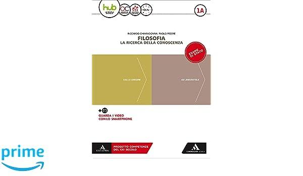 Con Libro: Filosofia per tutti: 1A-1B: Amazon.es: Riccardo Chiaradonna, Paolo Pecere: Libros en idiomas extranjeros
