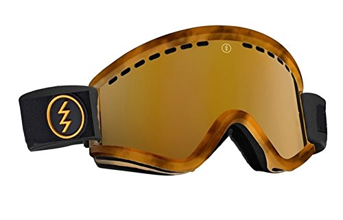 NEW Electric EGV Tort Brown Gold Bronze Mirror ski snowboard goggles 2016 Msrp$90