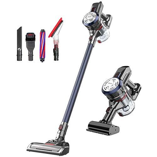 Dibea D18Pro Cordless Vacuum Clean, 17Kpa Powerful Suction, Handheld Vacuum, Navy Blue
