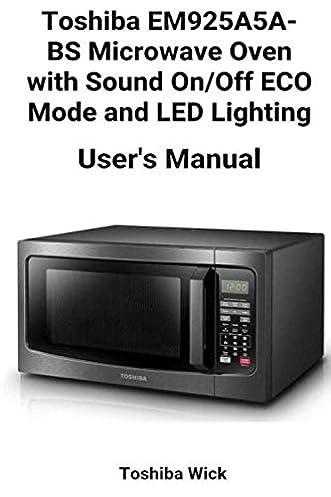 toshiba microwave oven manual