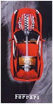 Strandtuch 80x160 Cm Ferrari F20 Amazon De Küche Haushalt