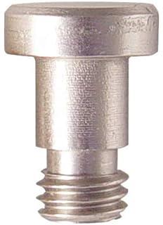 Bright Nickel Rubber Tip Emtek 2241 Solid Brass Hinge Pivot Stop