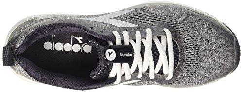 Diadora Kuruka 2 W, Zapatillas de Running Para Mujer Gris (Grigio Ghiaccio Nero)