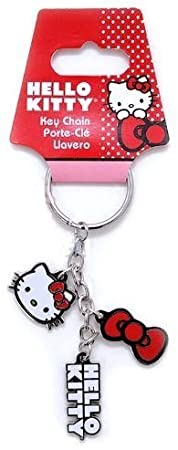 SANRIO PlastiColor 4297R01 Hello Kitty Charm Key Chain