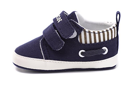 Pictures of Kuner Infant Baby Boys and Girls Canvas Blue 5