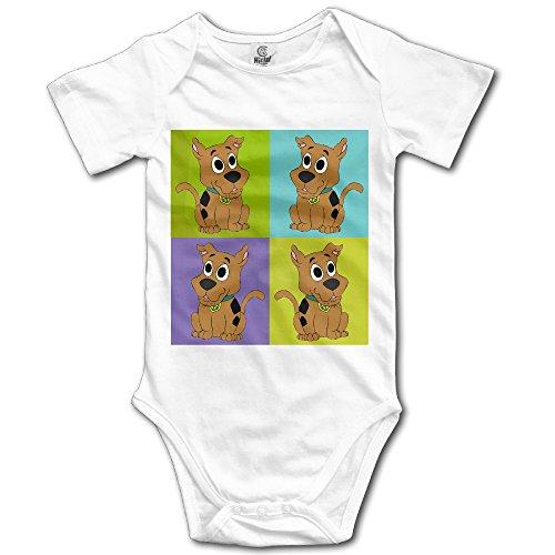 Scooby Doo Logo5 Custom Baby Toddler Rompers Cotton