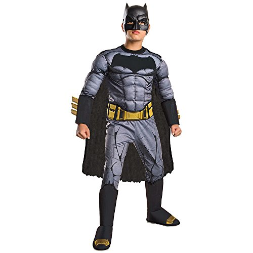 superman+costumes Products : Batman v Superman: Dawn of Justice - Kids Deluxe Batman Costume