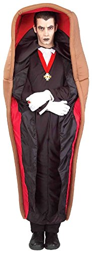 Man In A Box Costume - Forum Novelties Men's Drac-In-The-Box Costume, Multi, Standard