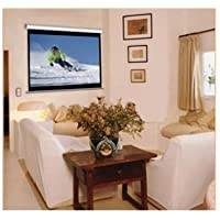 2M22484 - Elite Screens Manual Pull Down Projection Screen