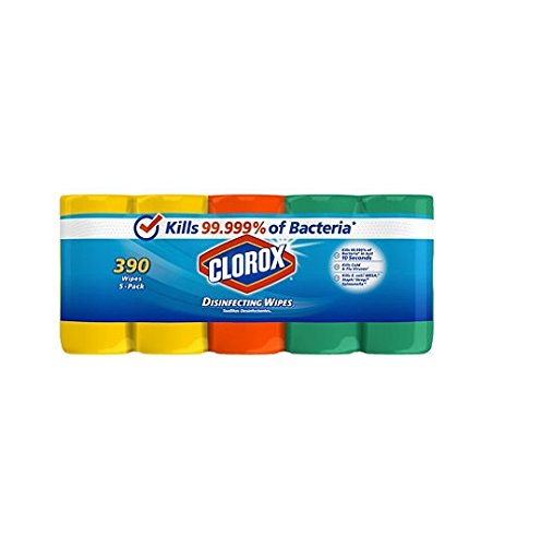 Clorox Disinfecting Wipes 78 Count, 5 Pack