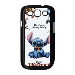 Samsung Galaxy S3 9300 Cell Phone Case Black Lilo & Stitch J3W2B