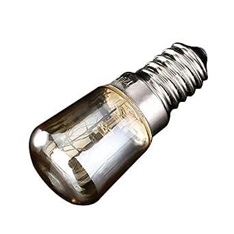 glow bombilla E14 Lámparas De Horno 300 Grados Ses T25 Tostadora ...