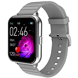 Smart Watch for Men Women Yohuton Fitness Tracker with IP67 Waterproof for Android iOS Phone, Smartwatch with 1.54…