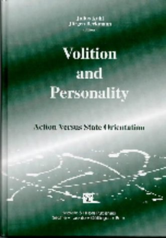 Volition And Personality  Action  And State Oriented Modes Of Control