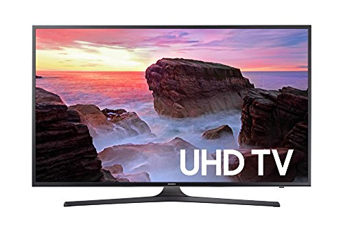 Samsung Electronics UN55MU6300 55-Inch 4K Ultra HD Smart LED TV (2017 Model) (Screen Hd Smart Tv Flat)