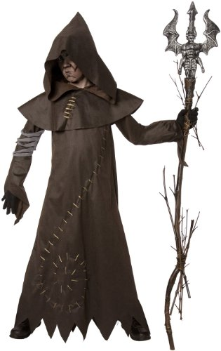 Warlock Costume Evil (Evil Warlock Child Costume, Medium)