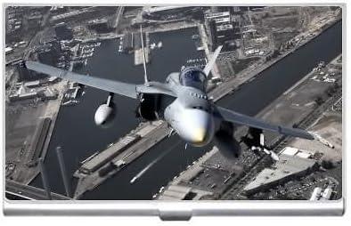 F-18 Hornet Australia Business Credit Card Holder Case