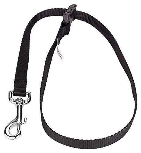 12 - Country Brook Pet Black Nylon Choker Style Grooming Loop