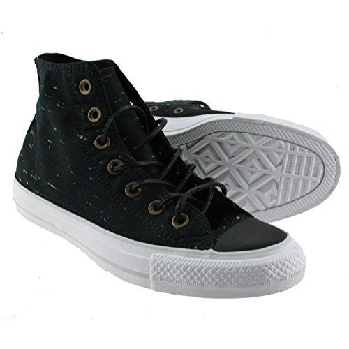 Converse Unisex Chuck Taylor All-star High-top Afslappet Sneakers I Klassisk Stil Og Farve Og Holdbare Overdel Af Lærred Sort Hvid wFTMpCvqP