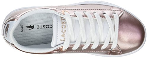 Baskets Fille Wht Evo SPC Rose 318 Carnaby F50 2 Pnk Lacoste qCSXTwY