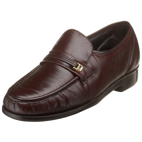 Florsheim Men's Riva Slip-On,Burgundy,9 D ()