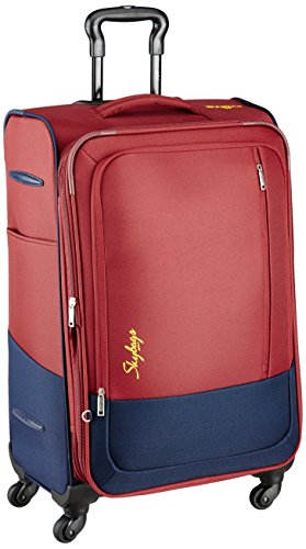 Skybags Footloose Romeo Polyester 59 cms Red Softsided Carry-On (STROW58ERED)