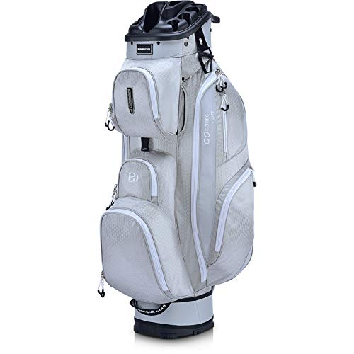 Bennington Quiet Organizer 14 Lite Cart Bag Dolphin Gray/Indigo