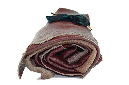 Décoration Din Qualité Revêtement Cuir Pièces Découpes Couture Extra Club4brands 1kg Bricolage Rouge Textil A4 De Grande Chutes ZYv7w