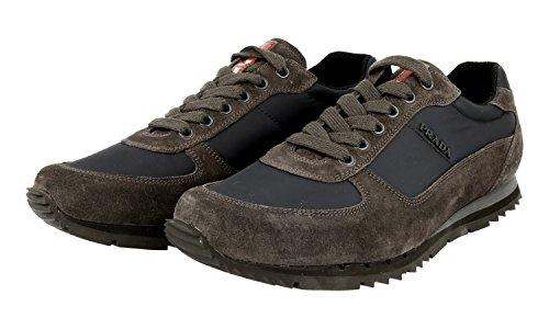 Sneaker In Pelle Prada Mens 4e2721 Oqt F0qyf