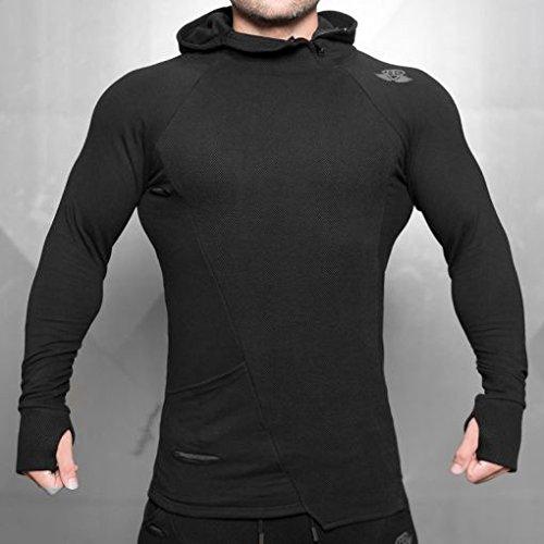 Body Engineers SVGE FENRIR Hoodie schwarz Größe M