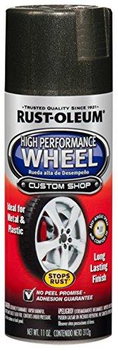 Wheel Charcoal - Rust-Oleum 248930 Automotive 11-Ounce High Performance Wheel Spray Paint, Graphite