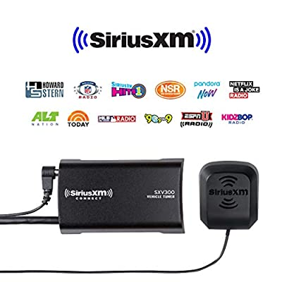 SiriusXM SXV300v1 Connect Vehicle Tuner Kit for Satellite Radio with Free 3 Months Satellite and Streaming Service: Car Electronics