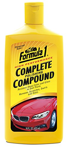 Formula 1 High-Performance Complete Polishing Compound – Restores Color and - Out Scratches Of Buffing Plastic
