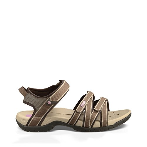 Teva Women's Tirra Sandal,Chocolate Chip,6 M US