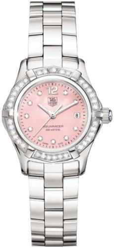 TAG Heuer Women's WAF141B.BA0813 Aquaracer Diamond Accented Watch
