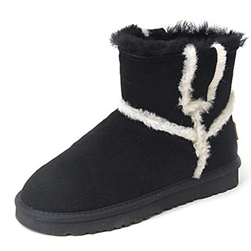 Mujer Zapatos Botas Cálidas Terciopelo 35 Nieve Color De Y Calzado 06wvRzq80