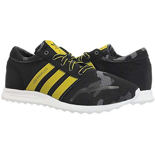 Zapatillas adidas - Los Angeles negro/amarillo/blanco talla: 41-1/3: Amazon.es: Zapatos y complementos