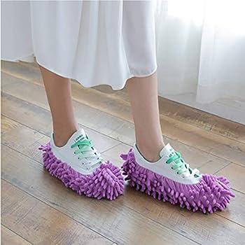Contiman Multi-Function Dust Duster Mop Zapatillas Zapatillas Cubierta de zapatos Lavable Reutilizable Microfibra Calcetines de pie Herramientas de limpieza de pisos Cubierta de zapatos Amazon Aspiración, Limpieza y Planchado Barredoras Hogar y Cocina Productos y Utensilios de Limpieza Utensilios de Limpieza