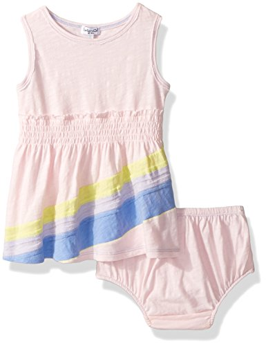 Spring Splendid - Splendid Baby Girls Rainbow Dress, Ballerina 6/12 mo