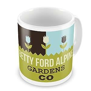 Coffee Mug US Gardens Betty Ford Alpine Gardens - CO - NEONBLOND
