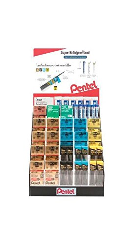 Lead and Eraser Display Assortment by Alvin and Company