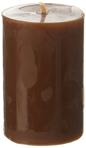 2 x 3 Brown Pillar Candle