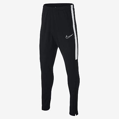 Transitorio gastar alondra  Amazon.com: Nike Boys' Dri-FIT Academy Soccer Pants (Black/White, S):  Clothing