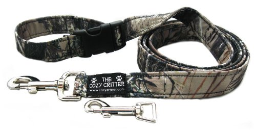 Timber Mossy 4ft-3 4\ Timber Mossy 4ft-3 4\ Cozy Critter Timber Mossy Camouflage Dog Leash 4ft-3 4