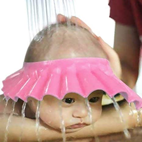 cabfc8b46f0a Buy Flipxen Adjustable Safe Soft Bathing Baby Shower Cap Wash Hair ...