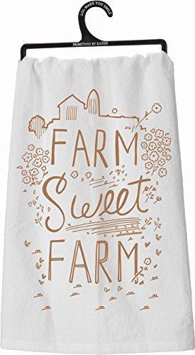 - Farm, Sweet, Farm Tea Towel