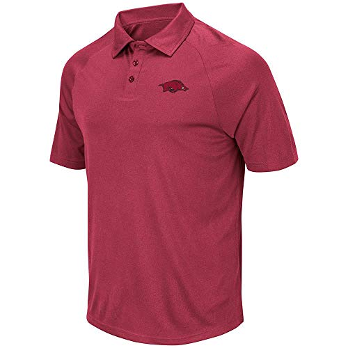 - Mens Arkansas Razorbacks Wellington Polo Shirt - L