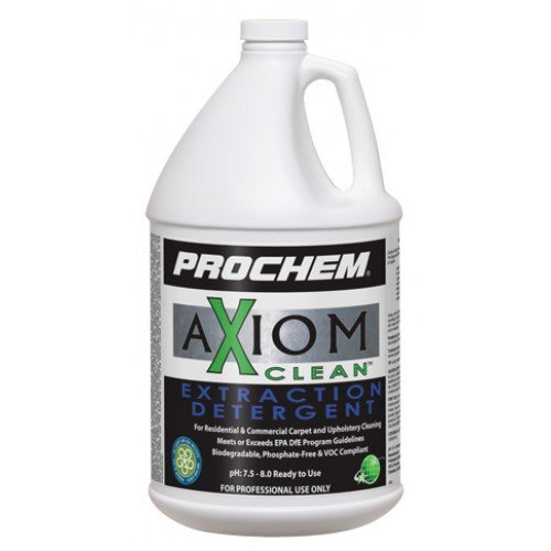Prochem Axiom Extraction Detergent, Case of 4